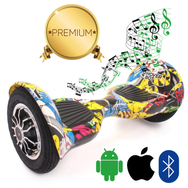 Гироскутер Hoverbot C1 (A8) PREMIUM (хип-хоп)